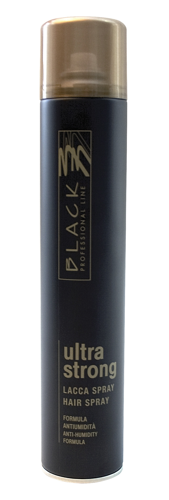 Black Ultra Strong Hair Spray 500ml - lak na vlasy