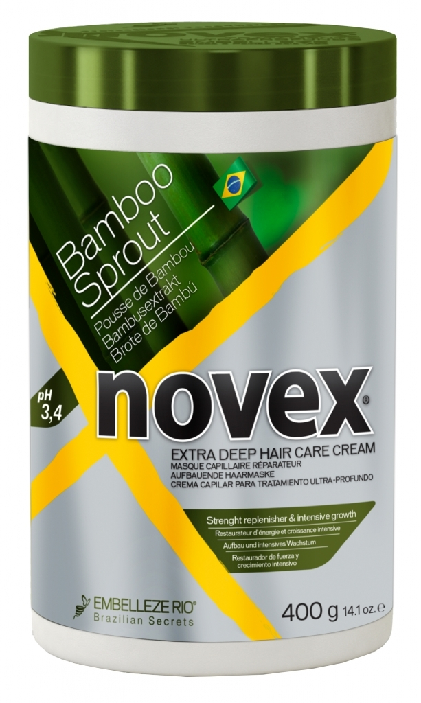 Novex Bamboo Shoot Deep Treatment Mask 400 g - bambusová maska na vlasy