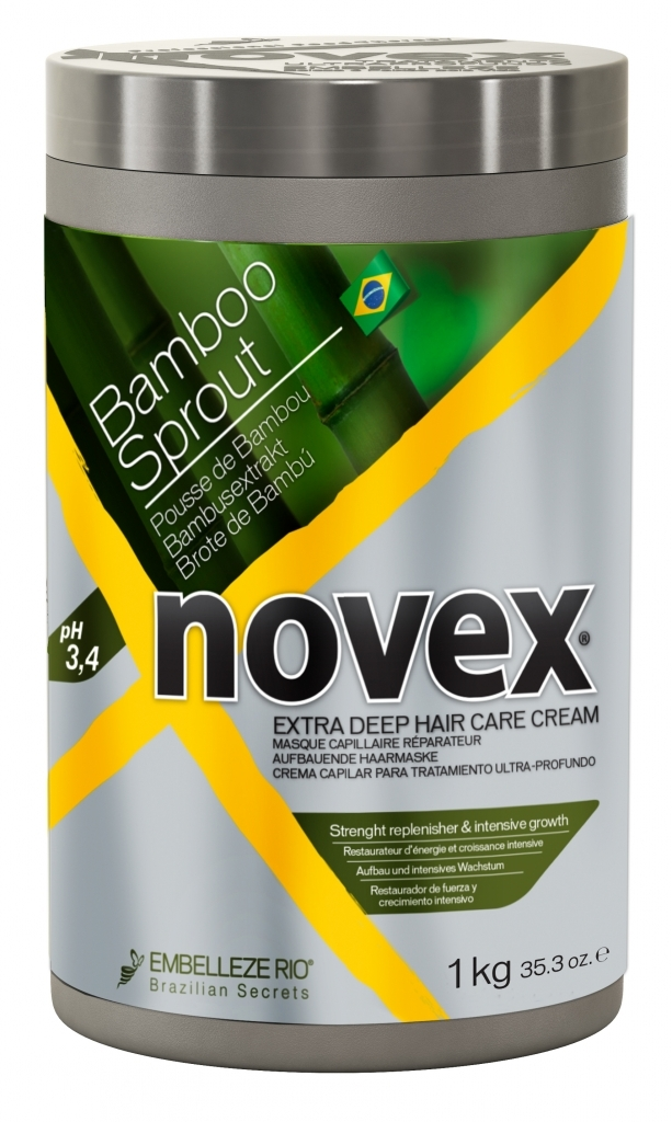 Novex Bamboo Shoot Deep Treatment Mask 1000 g - bambusová maska na vlasy