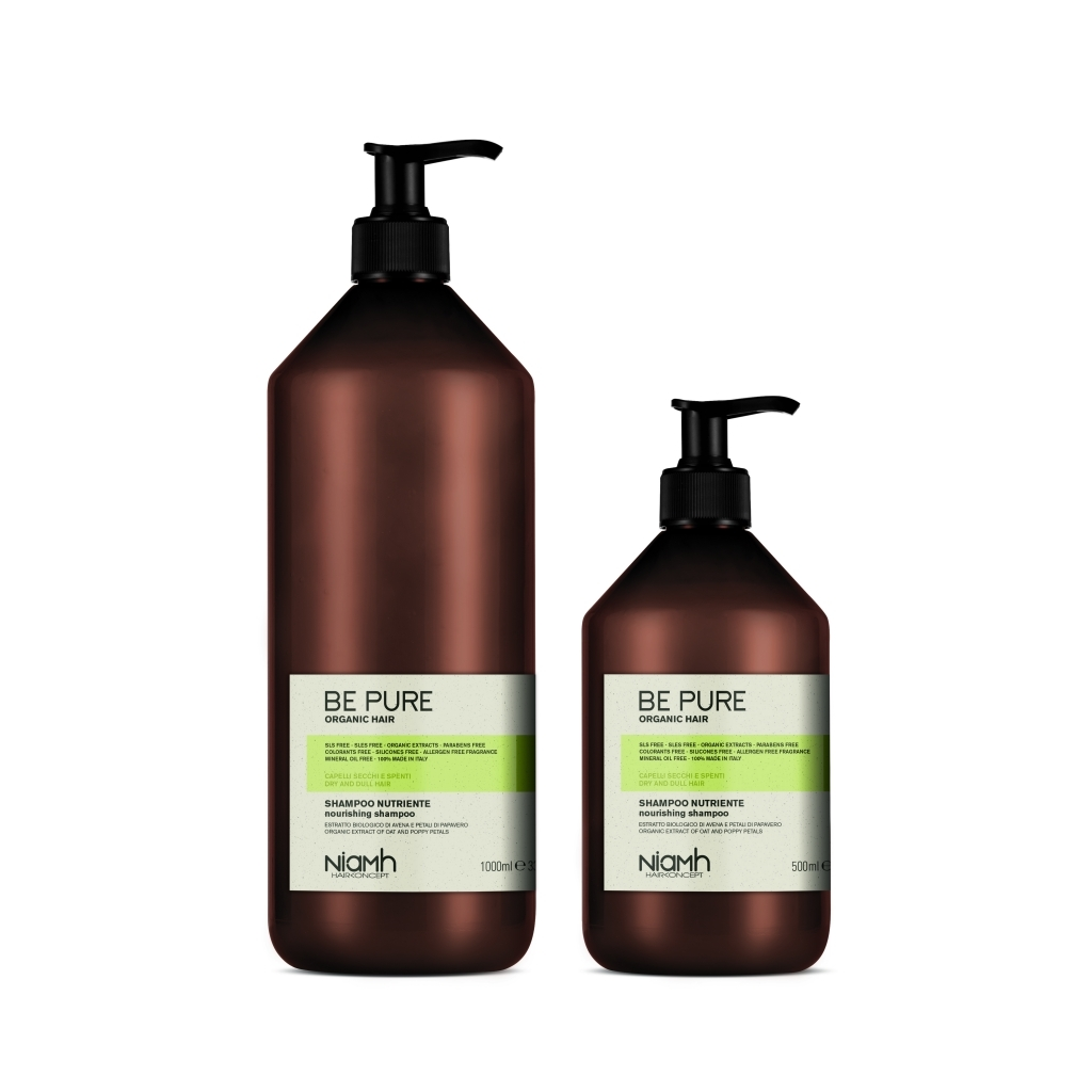 Niamh Hairkoncept Be Pure Nourishing Shampoo 1000 ml