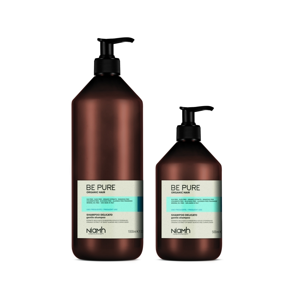 Niamh Hairkoncept Be Pure Gentle Shampoo 1000 ml