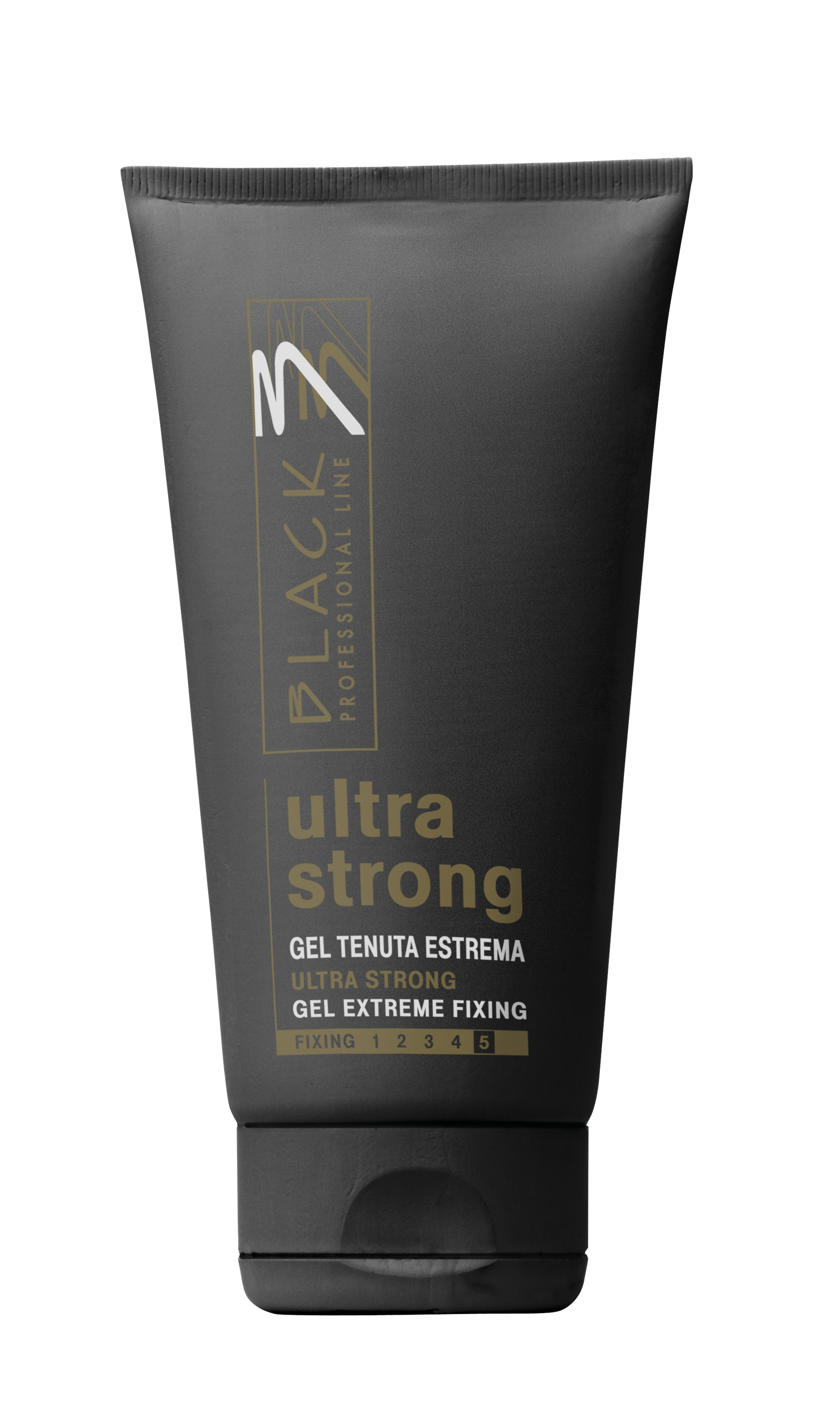 Black Gel Ultra Strong 150ml - gel na vlasy