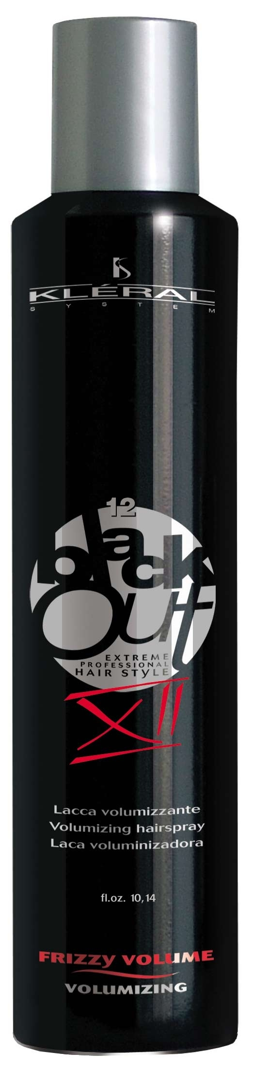 Kléral System Black Out Lacca Volumizzant XII 300 ml - lak na vlasy