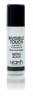 Niamh Hairkoncept Invisible Touch Root Concealer Black 75 ml - korektor černý