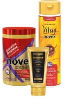 Novex Brazilian Keratin Set + ZDARMA Thermal Heat Protector