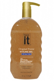 Freeze it Styling Gel (18 Hour Hold) 1135 g