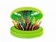 Rainbow Brush Green Pocket - rozčesávací kartáč