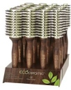 Olivia Garden Wood Ecoceramic Firm Bristles Display