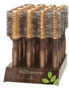 Olivia Garden Wood Ecoceramic Soft Bristles Display