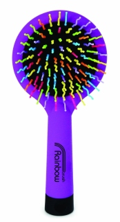 Rainbow Brush Medium Purple - rozčesávací kartáč